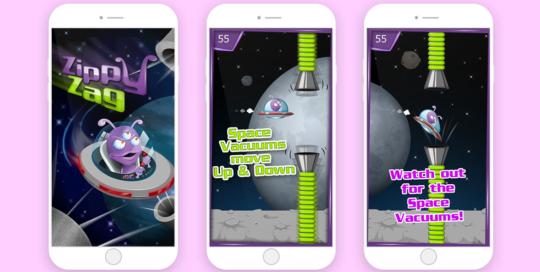 Zippy Zag mobile game development